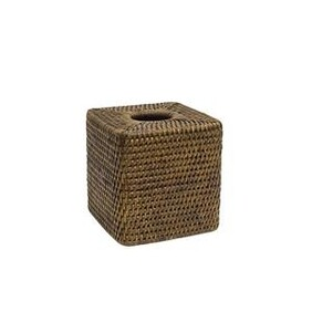 French Country Coco Square Tissue Box