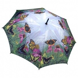 Clifton Galleria Swirling Butterfly Umbrella