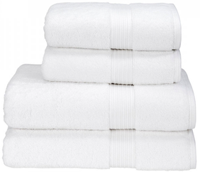 Christy Hygro Towel Collection - White