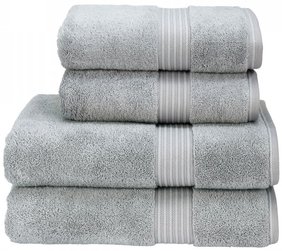 Christy Hygro Towel Collection - Silver
