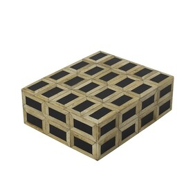 French Country Black Natural Box