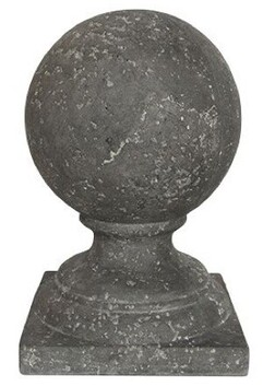 French Country Sphere On Base Small