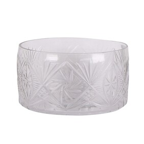 French Country Cut Glass Trifle Bowl Small