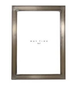 Maytime Lucy Frame - Pewter Look 5x7