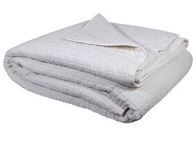 French Country Bande Bedcover - Ecru