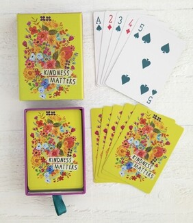 Natural Life Kindness Matters Playing Cards