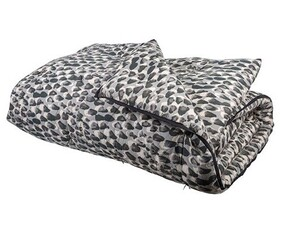 French Country Pebble Eiderdown - Charcoal