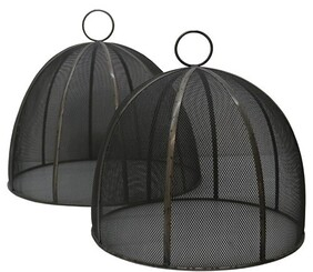 Le Forge Metal Food Cover - Grey