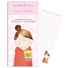 Rosie Too Sexy Magnetic List Pad