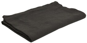 French Country Everyday Linen Tablecloth - Charcoal 150x250cmW