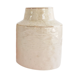 Urban Products Speckle Vase 18cm - Pink/Gold