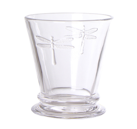 French Country Dragonfly Tumbler 9cmLx9cmWx10cmH