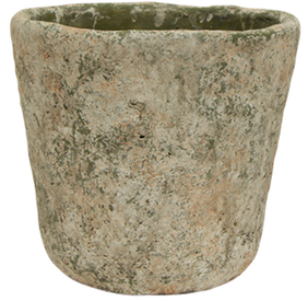 French Country Verde Planter Pot Large 19Diax18cmH