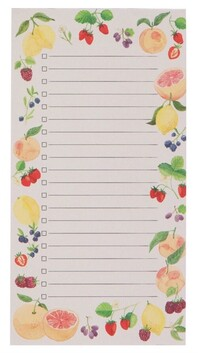 Now Designs Magnetic Notepad Fruit Salad