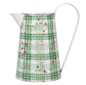 French Country Handle Flower Jug