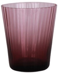 French Country Talbot Tumbler Glass - Purple 10cmH