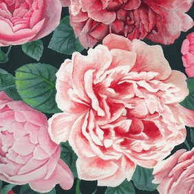 Image Gallery Pretty Peonies Napkins - Luncheon