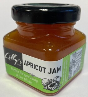 Lilly's Apricot Jam - 45g