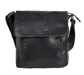 Urban Forest Cooper Leather Body Bag Riley Black