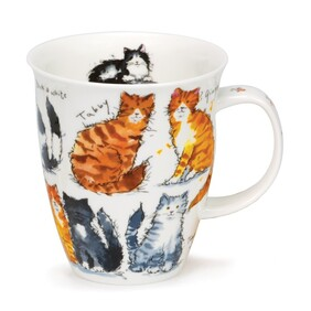 Dunoon Nevis Messy Cats Mug
