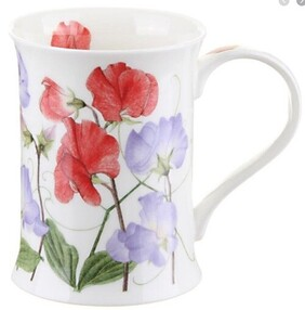 Dunoon Cotswold Sweetpea Mug - Red/Blue