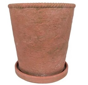 French Country Terracotta Rope Planter Small