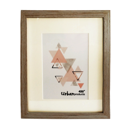 """Urban Products White Wash Frame - 4x6"""""""