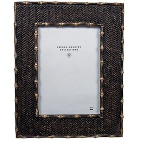 """French Country Dermont Photo Frame - Black 5x7"""""""