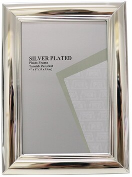 Le Forge Style 5 Photo Frame - Silver 10x15cm