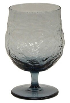 French Country Serena Wine Goblet - Blue 9cmDiax13cmH