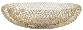 Le Forge Mesh Tray 35cm - Gold
