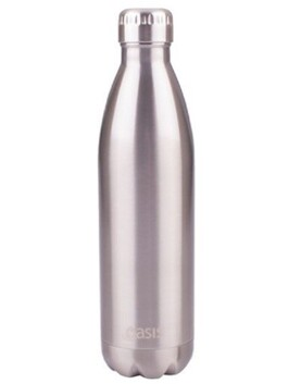 Oasis Insulated Drink Btle Oasis S/S Silver - 750ml