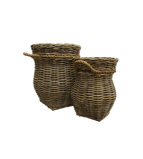 French Country Grove Urn Basket Small 33Hx44Dcm
