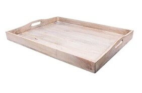 French Country Blanco Small Tray 51x38cm