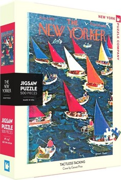New York Puzzle Company Puzzle Tactless Tacking - 500pce