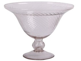 French Country Swirl Trifle Bowl