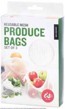 IS Mesh Produce Bags - Set 3