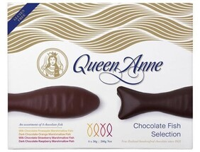 Queen Anne Chocolate Fish Selection - 200g