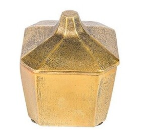 French Country Trinket Box Square - Small