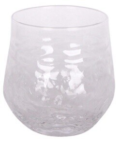 French Country Serena Clear Tumbler - 8cmDiax10cmH
