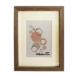 """Urban Products White Wash Frame - 3.5x5"""""""
