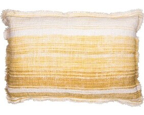 French Country Butter Stripe Cushion - 40x60cm