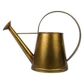 French Country Alloy Watering Can - Gold
