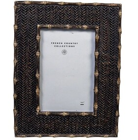 """French Country Dermont Photo Frame - Black 4x6"""""""