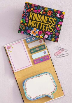 Natural Life Kindness Matters Sticky Note Book