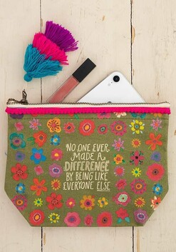 Natural Life No One Ever Cosmetic Bag