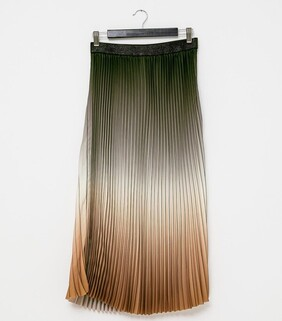 Stella & Gemma Ombre Skirt - Forest/Clay