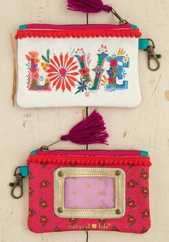 Natural Life Love ID Pouch