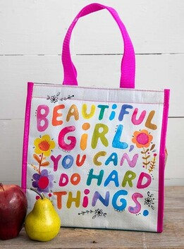 Natural Life Beautiful Girl Insulated Lunch Bag