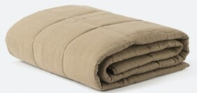 Citta Linen Quilted Blanket - Pickle Small 130x180cm